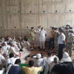 किसानों ने ठप किया दिल्ली- मेरठ एक्सप्रेस-वे का काम